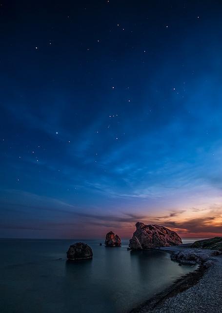 Фото кипр звездное небо