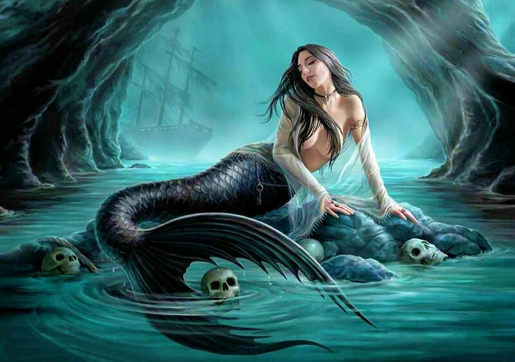 Sirens in Greek mythology were dangerous creatures, who lured nearby sailors with their enchanting music and voices. When sirens are named, they are usually as daughters of the river god Achelous