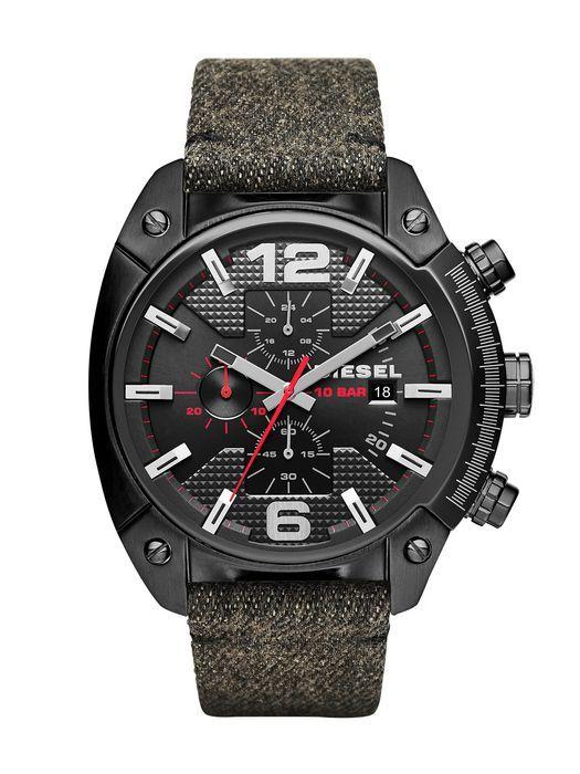 Diesel DZ4373 Overflow Black Dial Men's Fashion Watch
