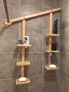 image result for unique shower caddy ideas   bamboo shower