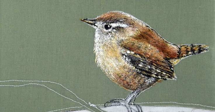 Textile artists inspired by birds