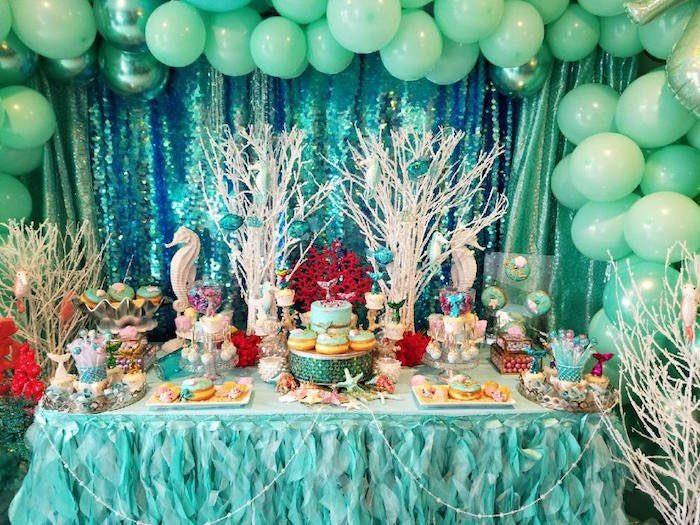 Under The Sea Birthday Party Sea Birthday Party Birthday