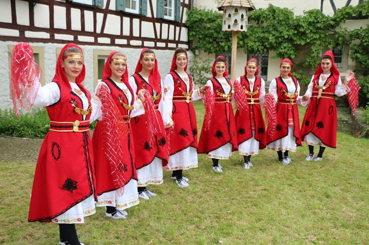 Albanian Clothing   Traditional Dress   Culture of Albania   Albanian People in National Costume.