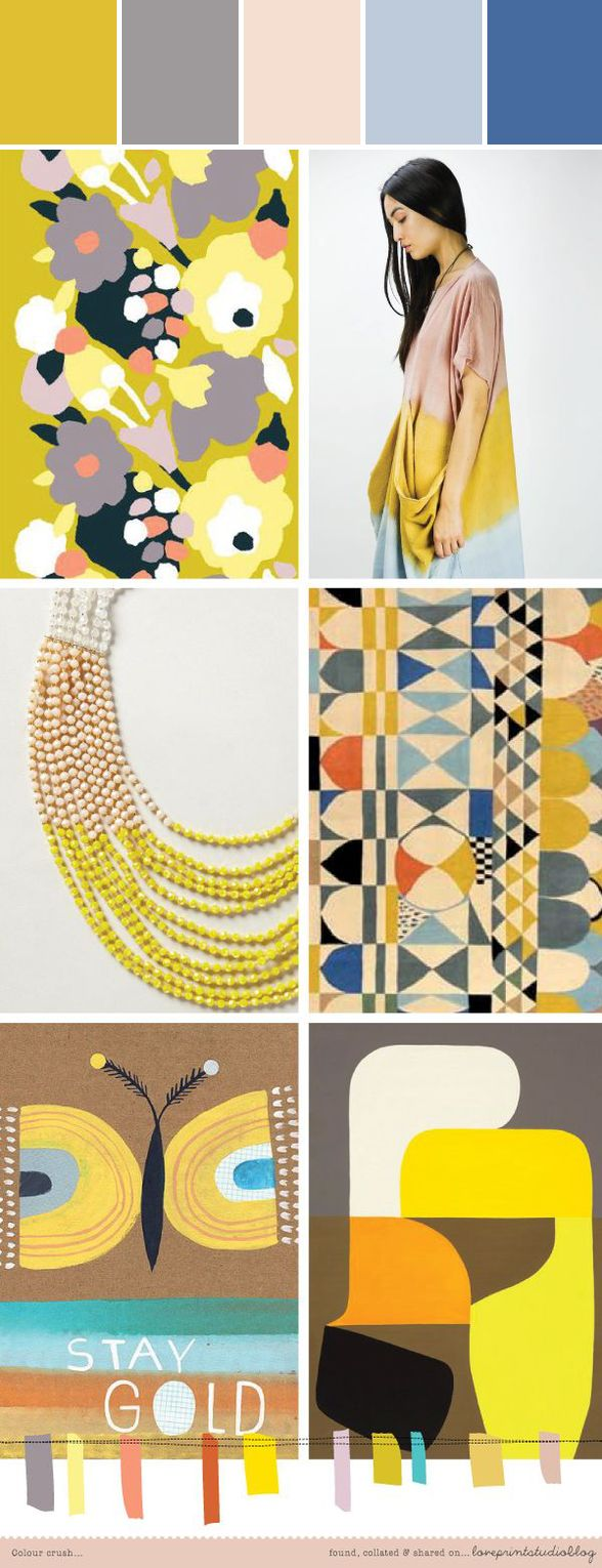 Design Board By Love Print Studio Blog Designed By Lisa Perrone Stylyze Creative Director Via