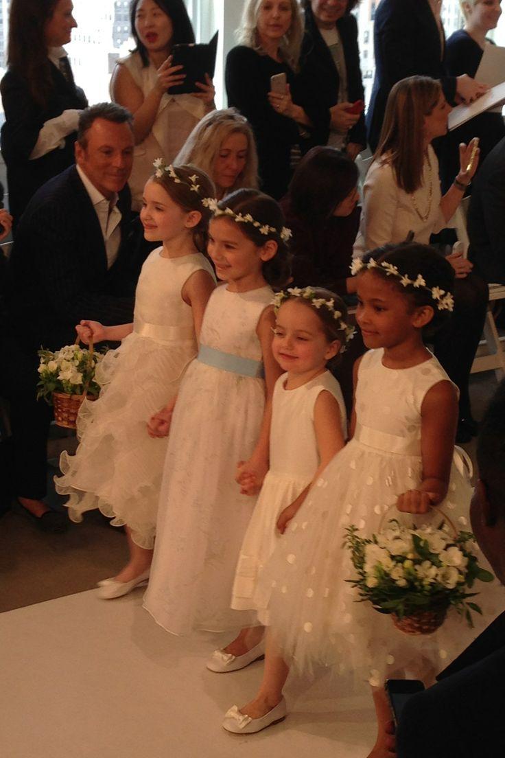 precious flower girl ideas...Oscar de la Renta - New York Bridal Market - Spring 2015