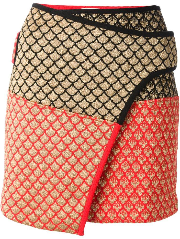 Kenzo Wrap Skirt