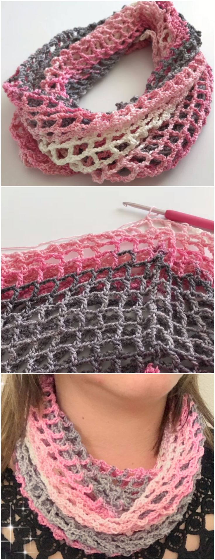 Crochet Easy Soft Shawl