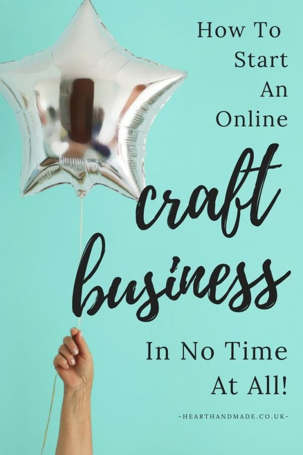 Lovely How to start an online craft business in under mins