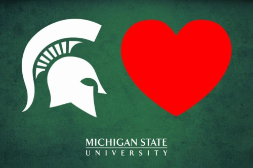 Michigan State University #Spartans