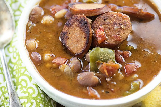 You're going to love this slow cooker soup, full of tender beans, Cajun seasonings, and chunks of Andouille sausage. This post is sponsored by Hurst's Beans. Thank you for supporting the brands that support this blog! Did I tell you guys about the time my husband took me to see Wicked? It was last week, …