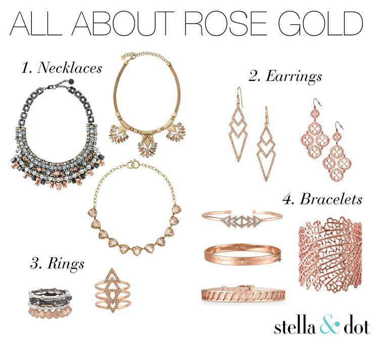 All About Rose Gold with Stella & Dot.