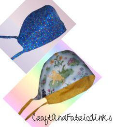 Reversible chemo cap pattern. Fully illustrated instructions. Make from comfy cotton.