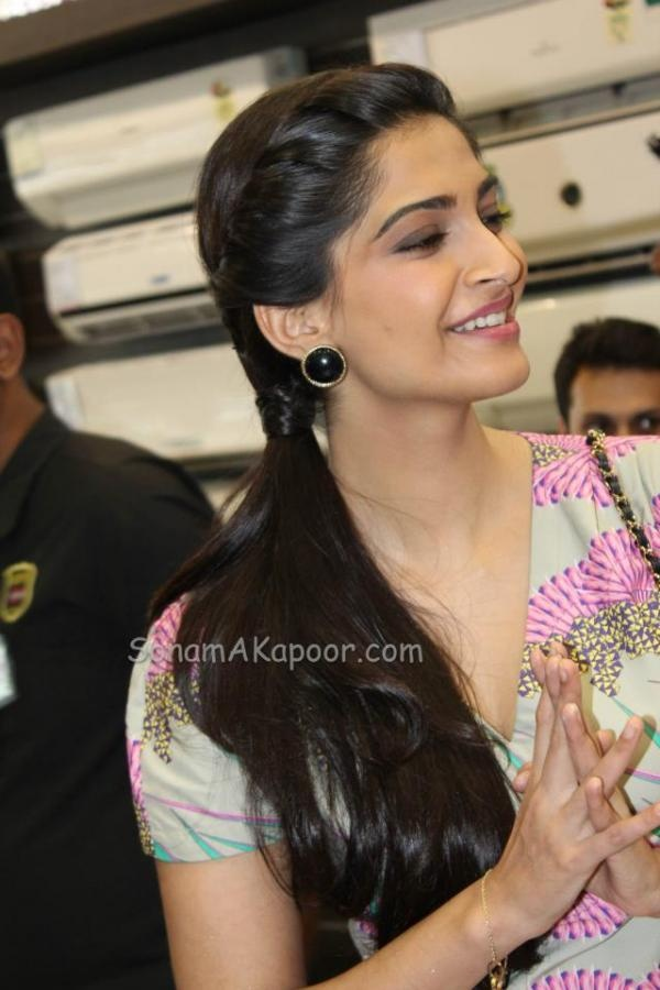 Sonam Kapoor at Electrolux Promotions