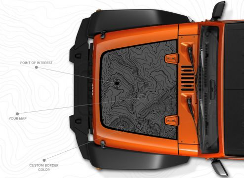 Mopar Custom Hood Decal for Your Jeep ®  Brand Vehicle - The Jeep Blog