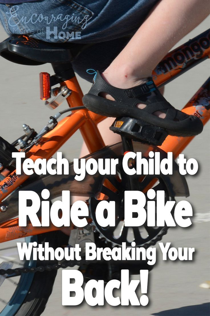 Teach your child to ride a bike without breaking your back - a quick and easy method for moms, dads and kids! The balance method for learning to ride a bike works!