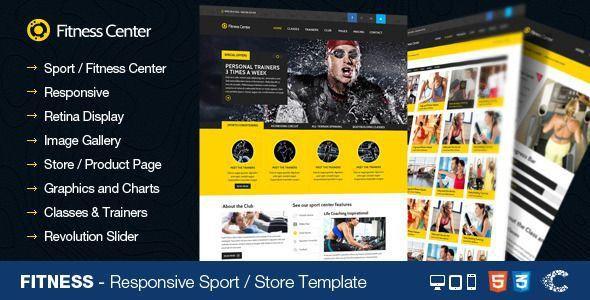 #gym #fitnesscenter #templates  gym fitness center website templates