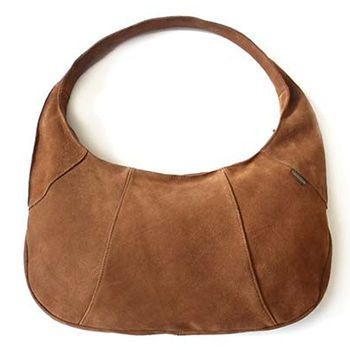 New Zealand Canterbury Sheepskin Urbano Suede Leather Bag