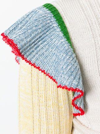 Alexander McQueen 페플럼 스웨터