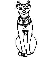Üvegmatrica : Bastet/Egyiptom, Vallás