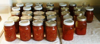 Home Canned Spaghetti Sauce - Common Sense Homesteading