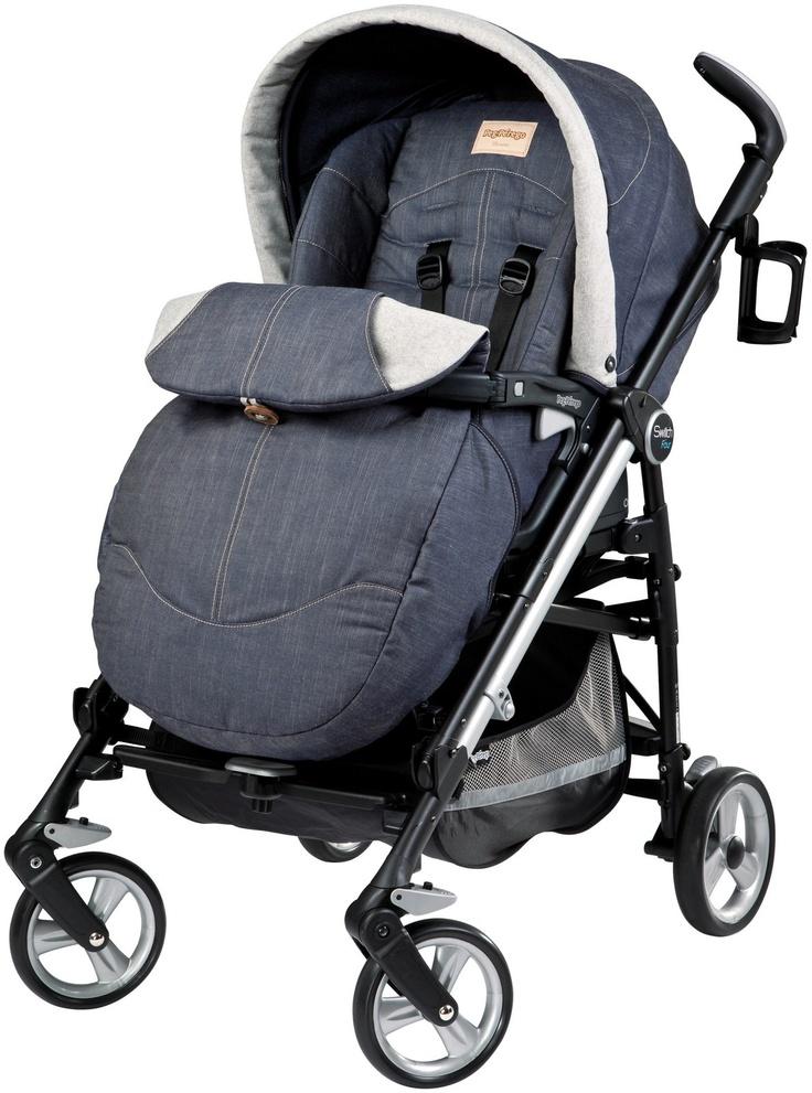 Peg Perego Swtich FourDenim Best Price Stroller, Peg
