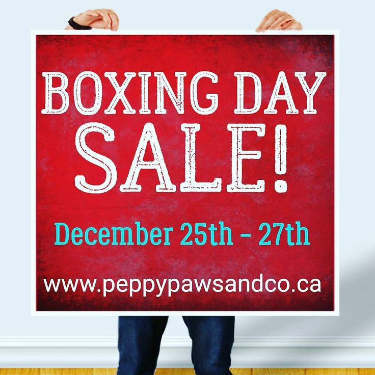 BOXING DAY SALES HAVE NEVER LOOKED SO GOOD!