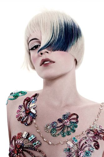 Gorgeous hair cut by Vidal Sassoon, color by Wella