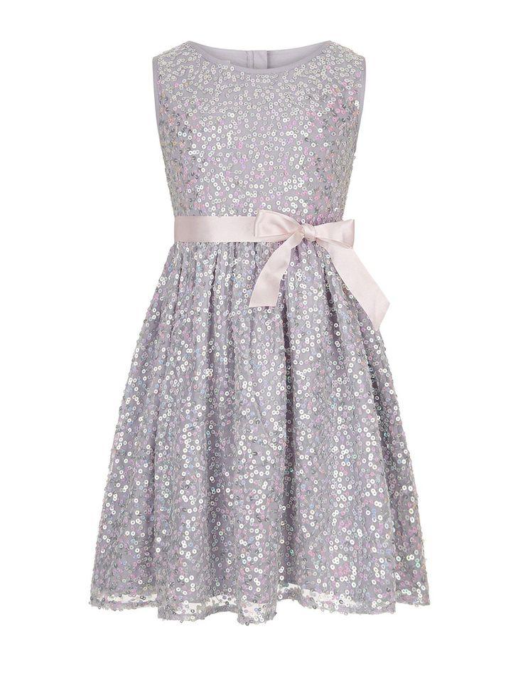 Monsoon Ottalia Sparkle Dress | very.co.uk