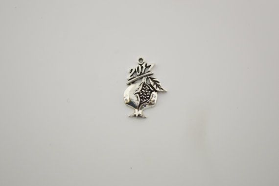 10 pcs pomegranate charm by charmsandmetal on Etsy