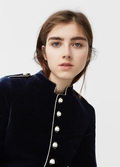 Cappotto stile militare