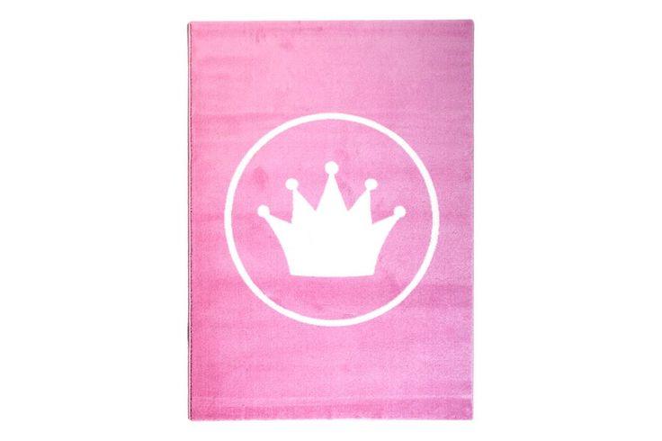 Prinsessekrone teppe 120x170 skeidar