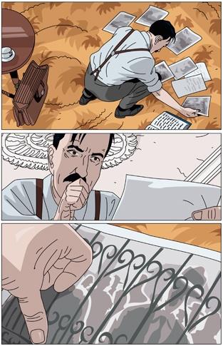 Peter Richardson, illustrateur, agence Marie Bastille // cette image appartient à son auteur et/ou l'agence Marie Bastille + d'infos sur le site //