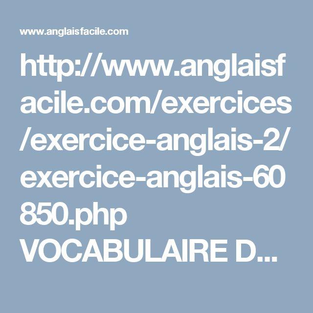 exercices cv en anglais
