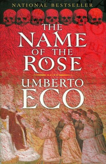 "50 great mystery novels everyone should read... starting with Umberto Eco's ""Name of the Rose"""