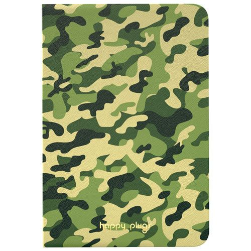 Happy Plugs Essential iPad Mini 4 Folio Book Case - Camoflauge