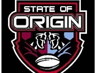 Rugby League State of Origin, attended in 2002 at Sydney Olympic Stadium after meeting 1/2 the Queensland team in Surfer's Paradise just days earlier