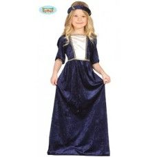Costume da dama medievale blu. http://festematte.it/index.php?route=product/product&path=59_68&product_id=68