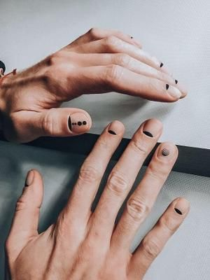 Mani Pedi, Nail Manicure, Nail Polish, Mens Nails, Nail Art Designs, Tattoo Designs, Badass Aesthetic, Minimalist Nails, Nail Inspo