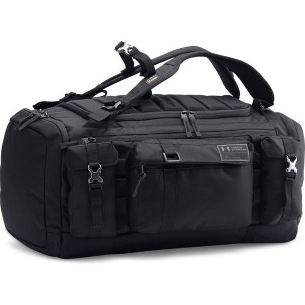 Under Armour Men\'s UA CORDURA® Range Duffle ($150) ❤ liked on Polyvore featuring men's fashion, men's bags, men's backpacks, mens backpack and mens laptop backpack