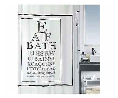 Tenda da doccia Vista, 180x200 cm