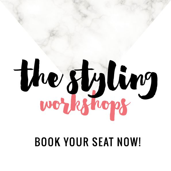 the styling workshops — style life home