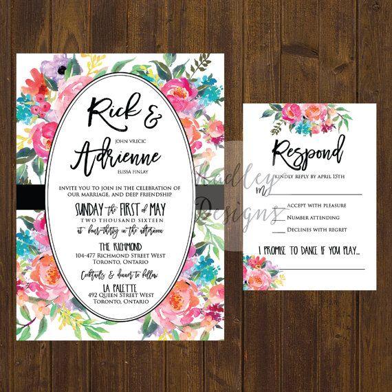 155 best Wedding Invitation images on Pinterest Bridal invitations - fresh sample wedding invitation tagalog version
