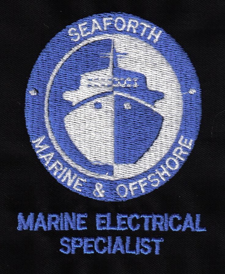 Seaforth Marine logo #embroided