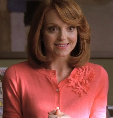 "Emma (Jayma Mays) in ""Glee"" - Yeah, I want to steal her entire wardrobe!"