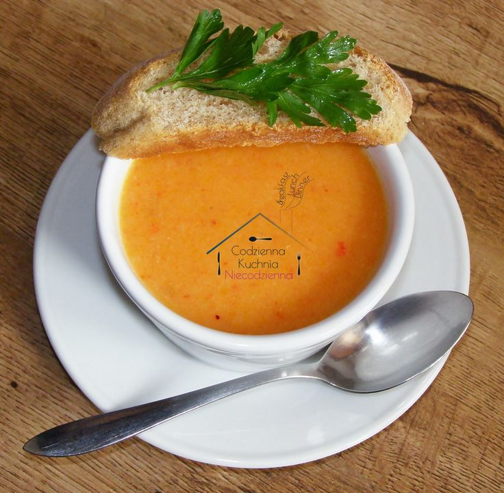 <center>Zupa z pieczonej papryki</center>