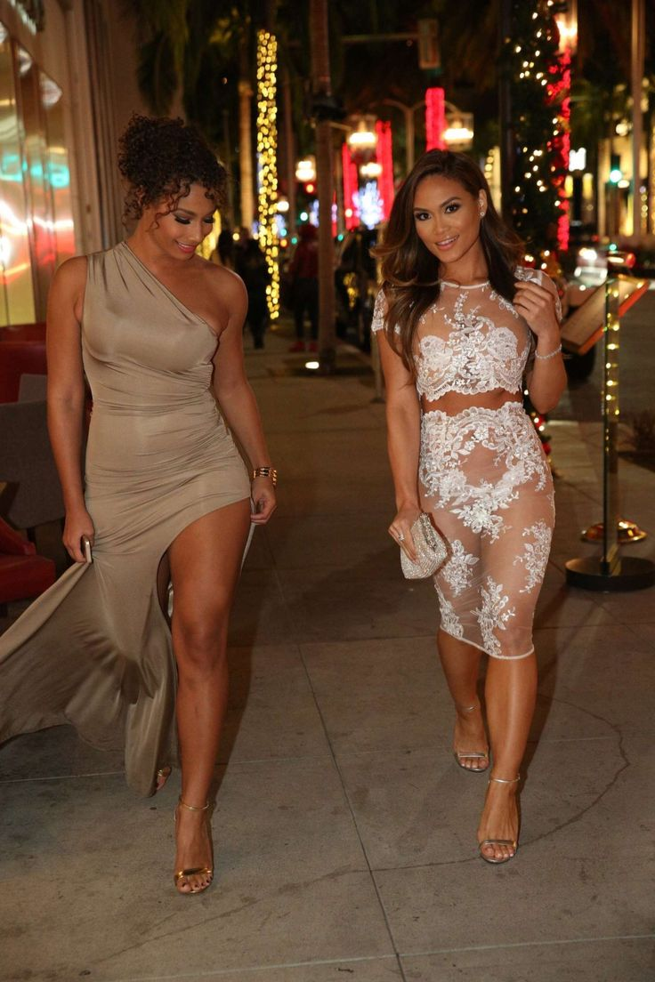 Daphne Joy out on Rodeo Drive in Beverly Hills