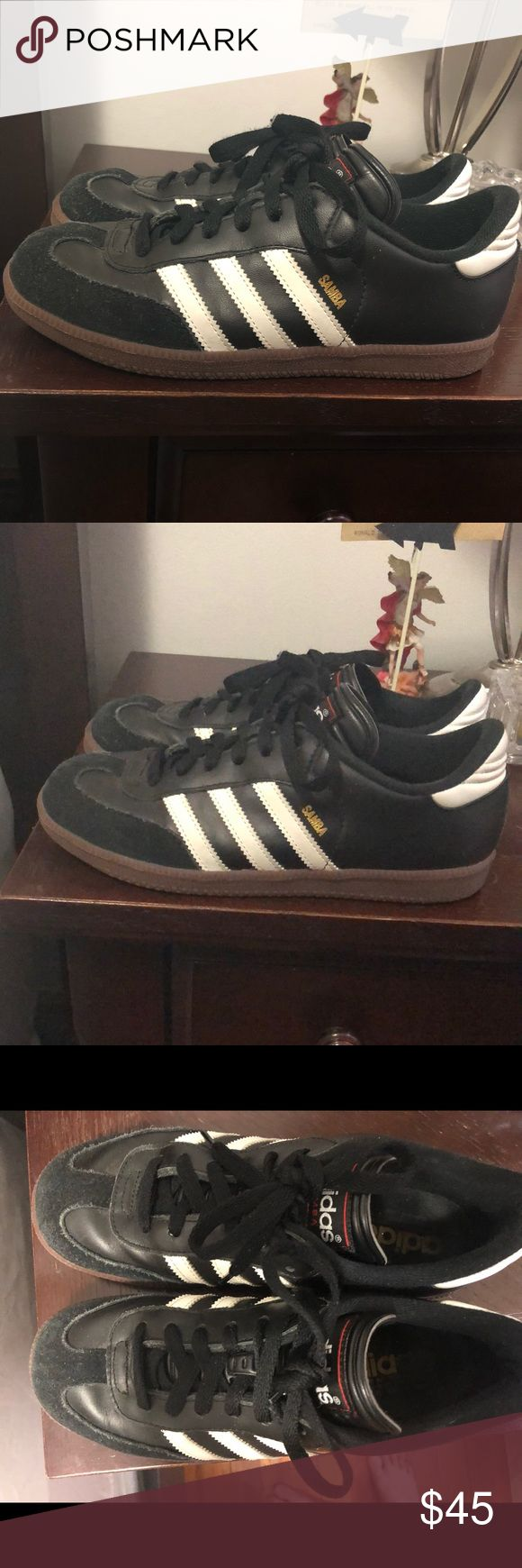 Adidas Samba Sneakers Size 5.5 in boys equivalent to 8 in women's adidas Shoes Sneakers