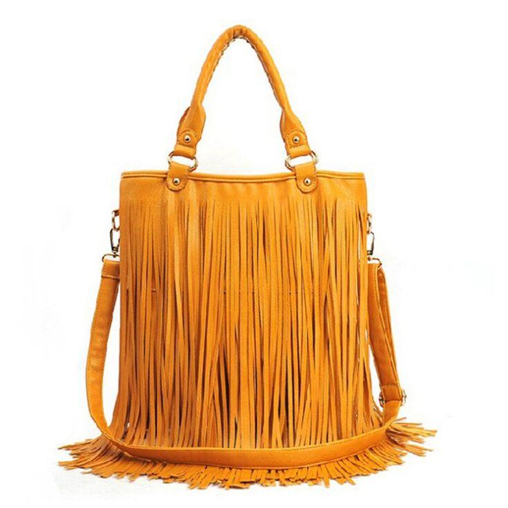 $36.94 (Buy here: https://alitems.com/g/1e8d114494ebda23ff8b16525dc3e8/?i=5&ulp=https%3A%2F%2Fwww.aliexpress.com%2Fitem%2FNew-Tassel-Shoulder-Bags-Women-Leather-Handbags-High-Quality-Messenger-Bags-Crossbody-Bolsas-Femiina-Sac-Femme%2F32470666744.html ) Women Tassel Handbags Fashion Fring Shoulder Bags Leather Female Bolsa De Franja Bolsas Femininas Sac A Main Neverfull 2016 for just $36.94