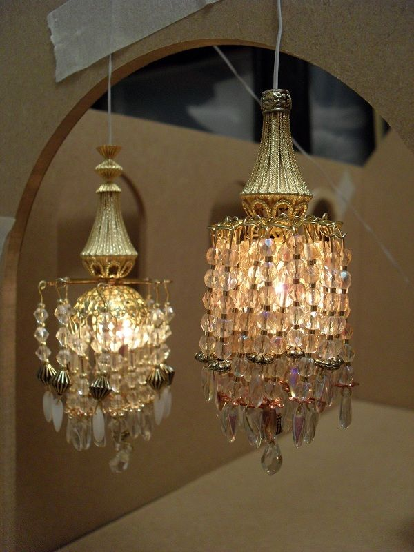 55 Best Miniature Lighting For The Dolls House Images On