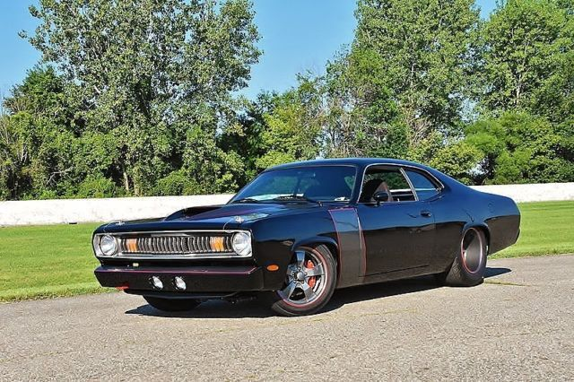 1973 Plymouth Duster Pro touring Resto Mod for sale: photos, technical specifications, description